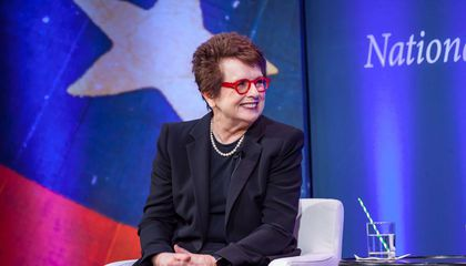 "Smithsonian Names Billie Jean King One of Its ""Great Americans"""