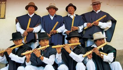 Listen to the Flutes of Ecuador, Then Catch Them Live