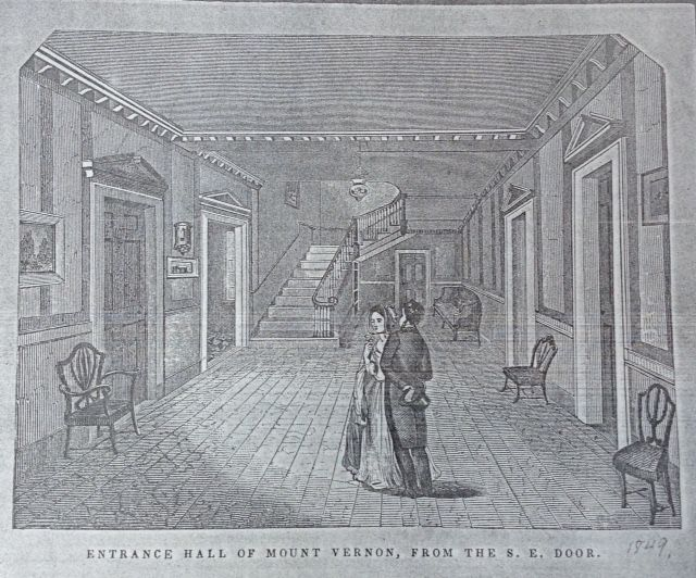 7b2690f9343 An illustration of visitors looking at the key. (Mount Vernon Ladies   Association)