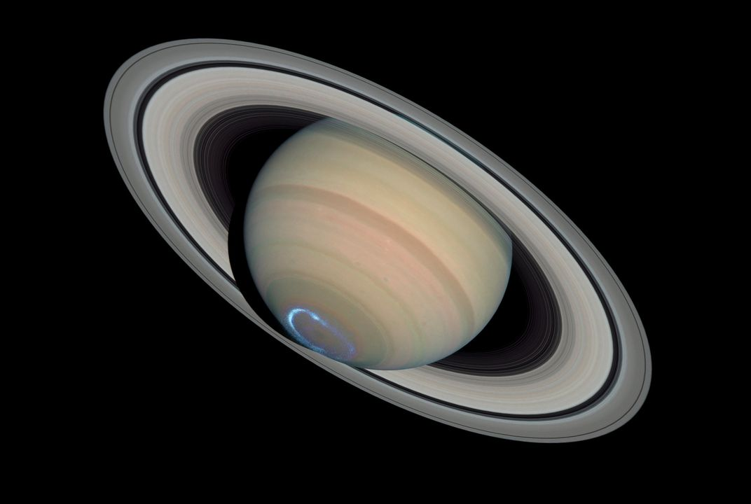 What's up with Saturn's rings?
