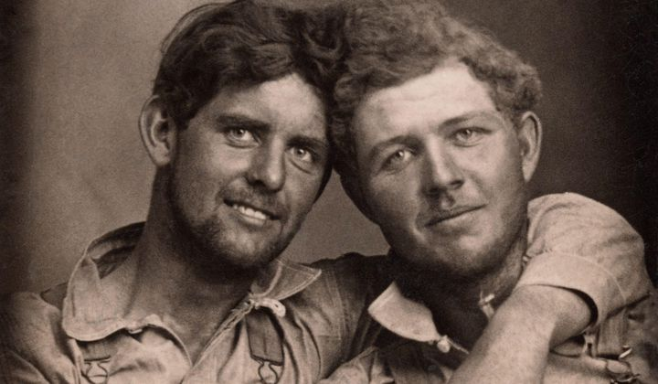 Photo Collection Highlights Historical Gay Couples