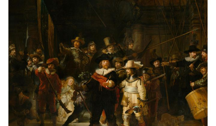 Explore Details of Rembrandt's 'The Night Watch'