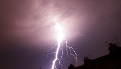 Could Lightning Come From Space?