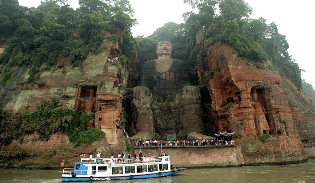 The 233-foot Leshan Giant Buddha remains a highlight of any visit to the region. Says one avid traveler: It's so big, it's not easy to see.