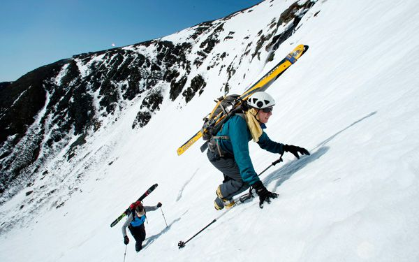 Rugged slopes keep extreme skiers stoked