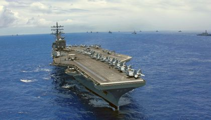 <i>Aircraft Carrier</i> Opens at IMAX Theaters