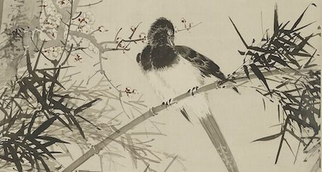 Birds were a popular part of Japanese art
