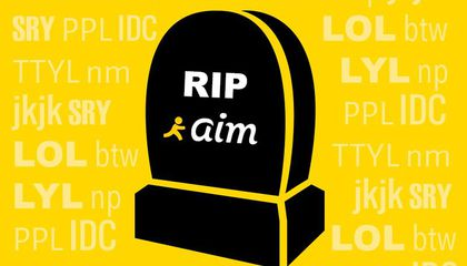 The Sharp Rise and Steep Descent of AOL Instant Messenger