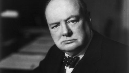Winston Churchill Imagined the Lab-Grown Hamburger