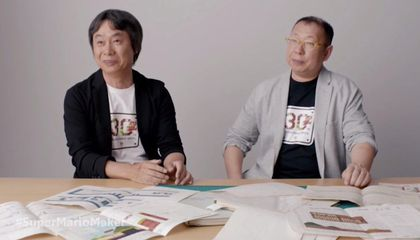 The Creators of Super Mario Drafted The Game on Graph Paper
