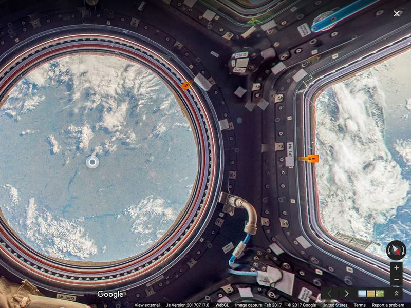 Explore the International Space Station With Google Street ...
