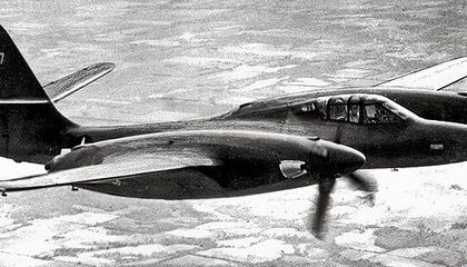 Blended wing-body visionary James McDonnell sculpted the XP-67 in the early 1940s, promising a speed of more than 400 mph.