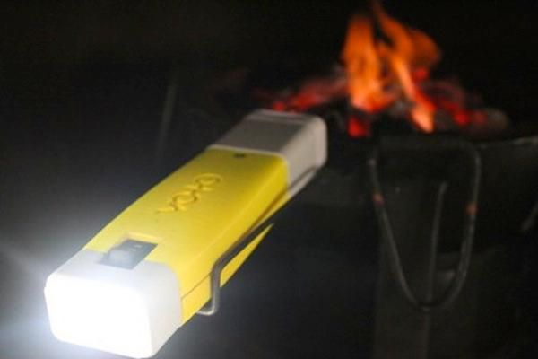 VOTO, a new device that converts the heat from a fire into readily usable electricity.