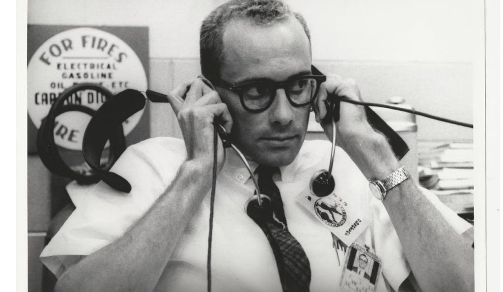 Before joining NASA in 1960, Dick Koos had worked on anti-aircraft systems for the Army. His familiarity with computers gave him an appreciation for the critical role machine commands would play in spaceflight.
