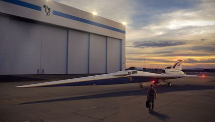 Five Things to Know About NASA's Supersonic X-Plane