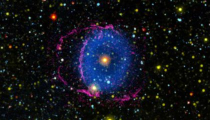 Astronomers Crack the Case of the Blue Ring Nebula
