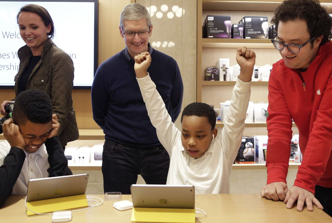 Apple's Tim Cook: More computer science and coding education needed