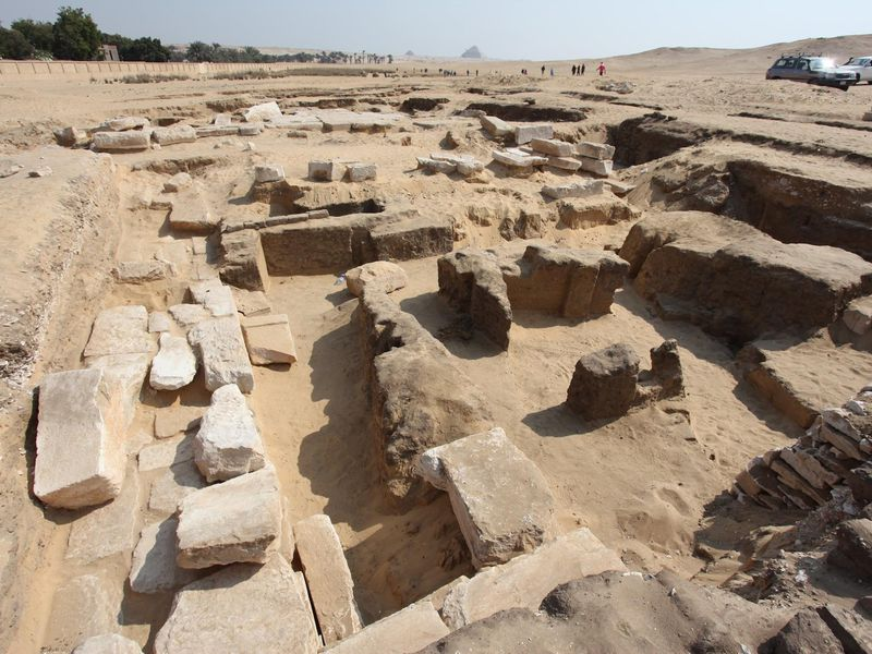 Remains of Temple to Ramses II Discovered Near Cairo | Smart