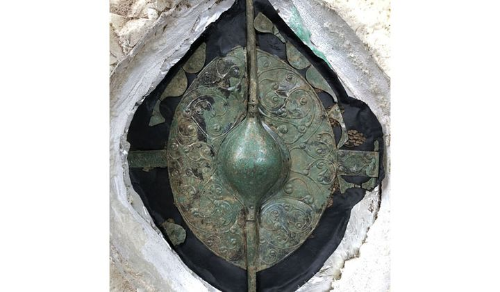 Celtic Chariot Grave Found in England