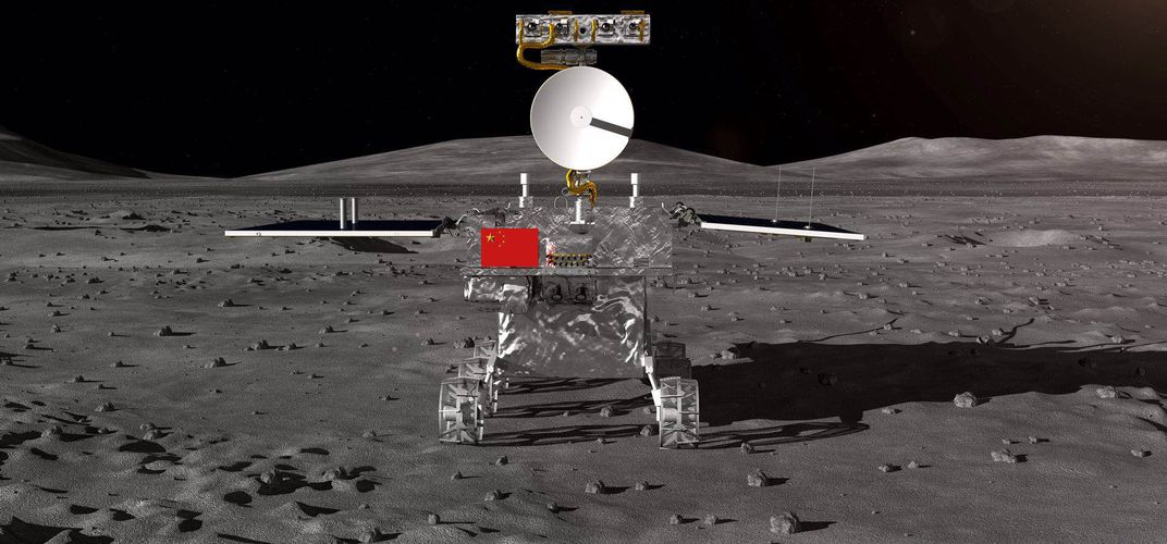 Caption: China's Mission to Land on Far Side of the Moon