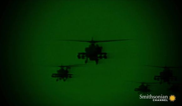 Preview thumbnail for video'Actual Footage of Desert Storm's First Apache Strikes