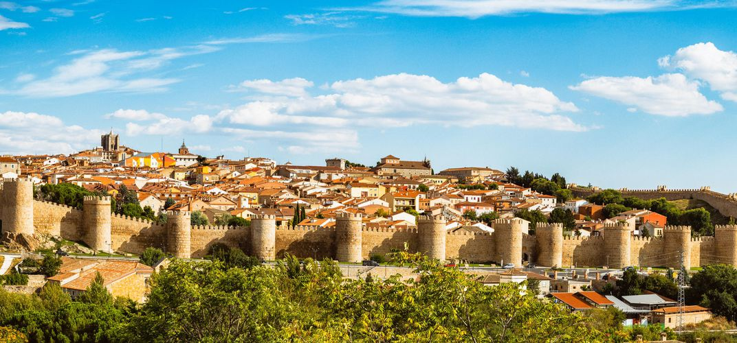 The World Heritage site of Avila