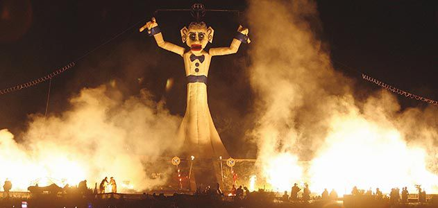 Zozobra in Santa Fe New Mexico