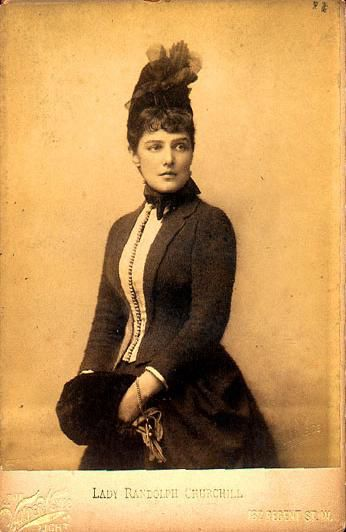 Jennie Jerome in the 1880s