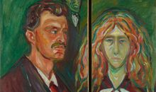 British Museum Reunites Portrait That Edvard Munch Sawed in Half to Avenge His Fiancée