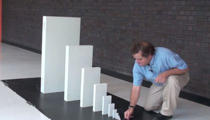 Just Twenty-Nine Dominoes Could Knock Down the Empire State Building