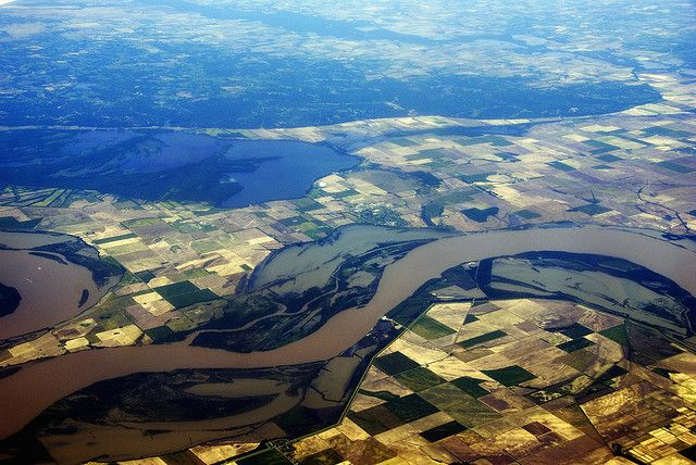 Rivers across the U.S. are getting less acidic, including the Mississippi River.