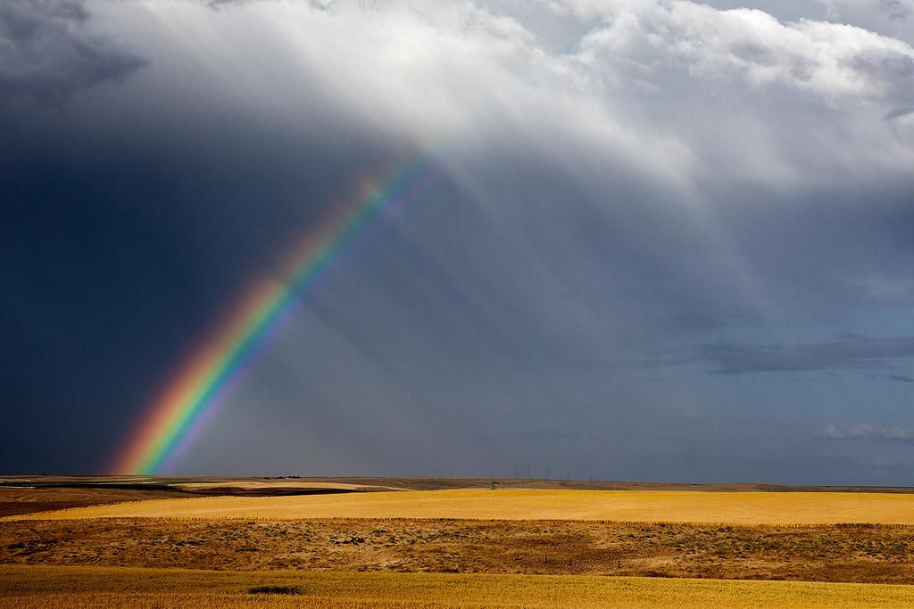not all rainbows have every color smart news smithsonian