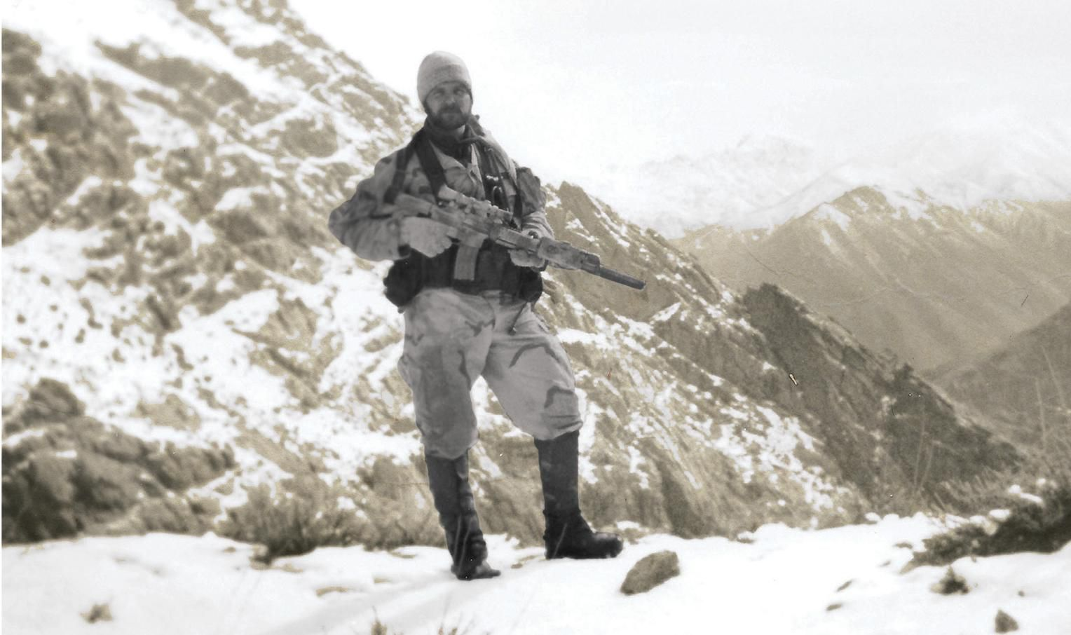 On a Snow-Covered Mountain in Afghanistan, John Chapman Made ...