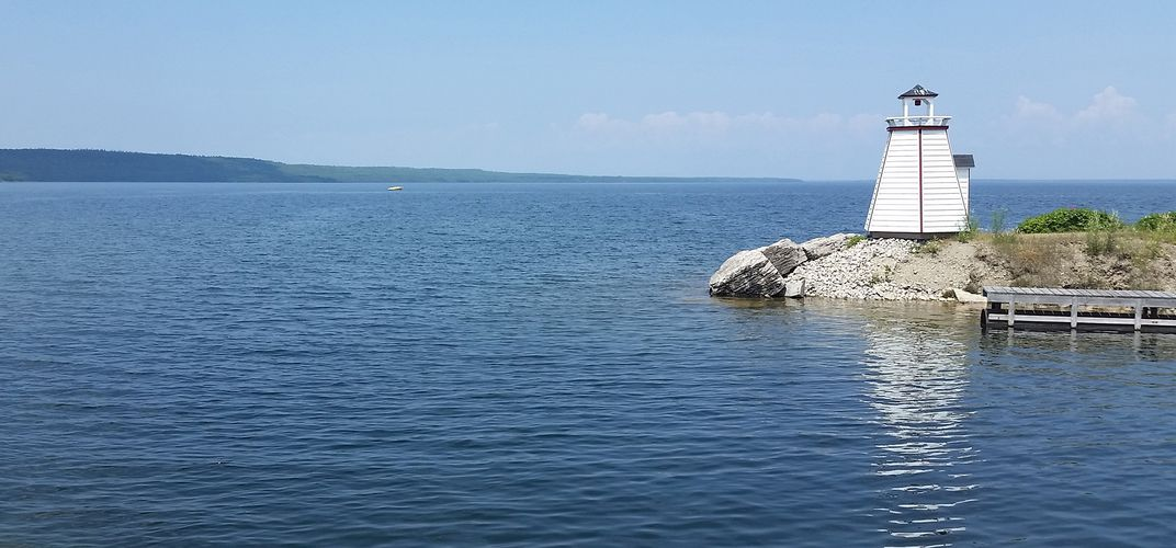 Ontario's Manitoulin Island in Lake Huron