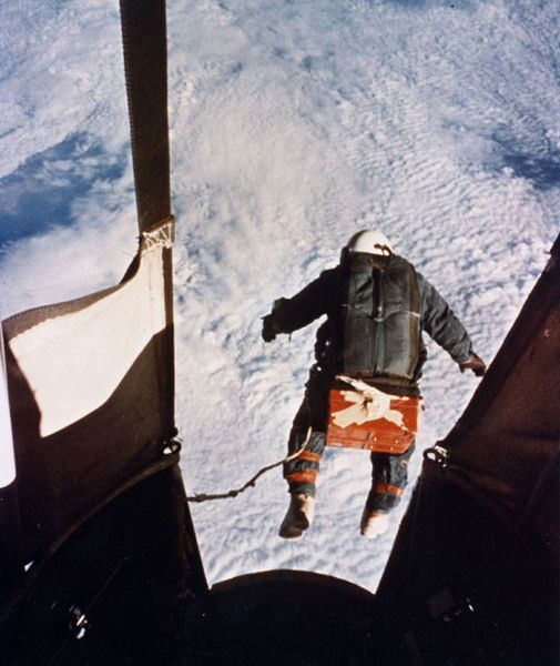 The National Air and Space Museum honors two who fell to Earth.