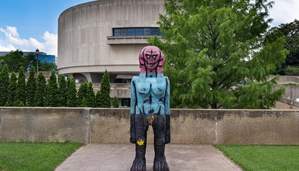 Two Monumental Sculptures Welcome Visitors Back to the Hirshhorn Sculpture Garden