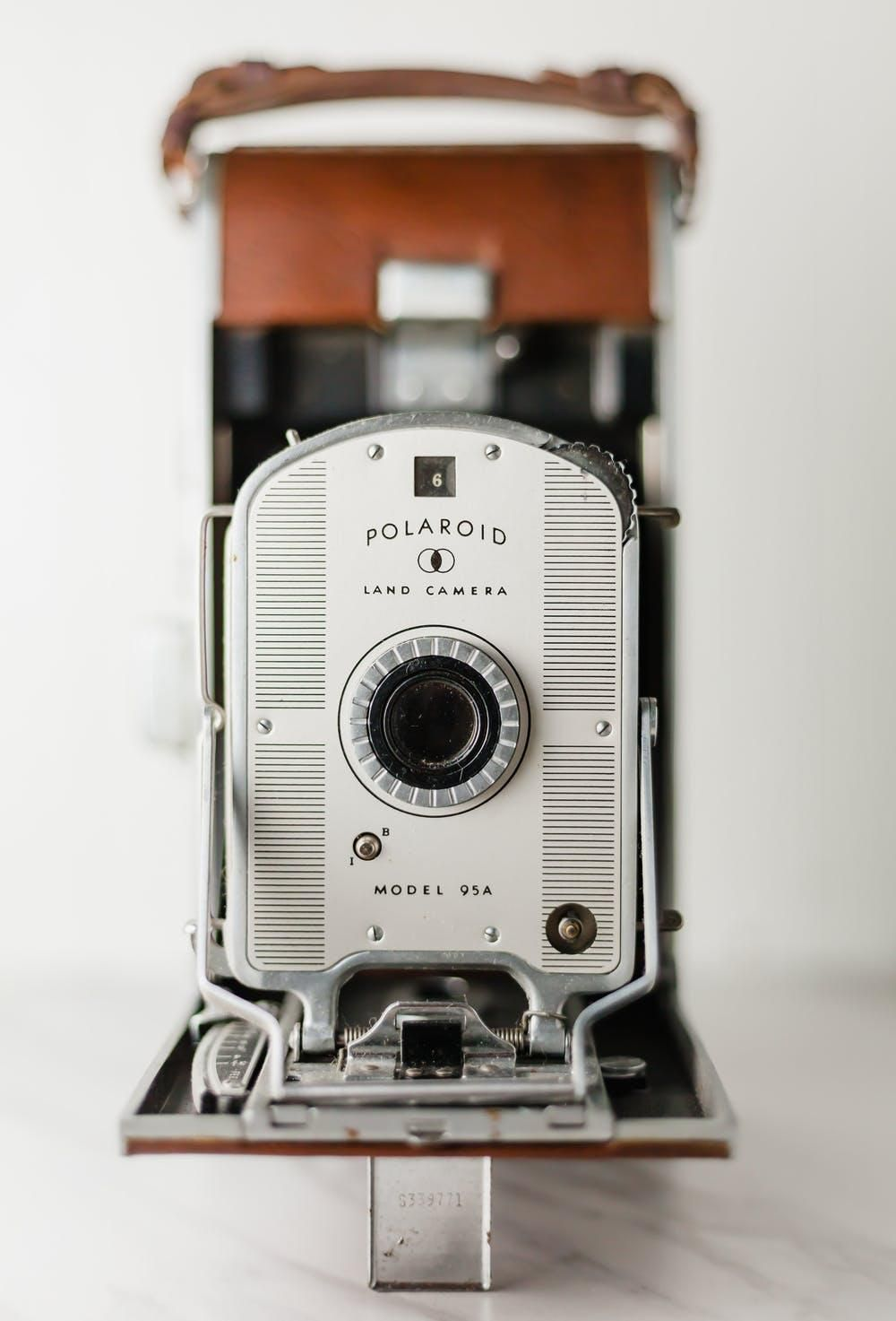 The original Polaroid camera freed users from needing to trek to a darkroom to develop their images.