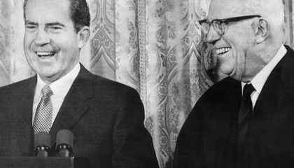 The Inside Story of Richard Nixon's Ugly, 30-Year Feud with Earl Warren