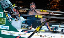 Amputee Marine Sets Record for Rowing Across the Atlantic Ocean From Europe to South America