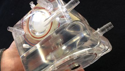 An Artificial Lung That Fits In a Backpack