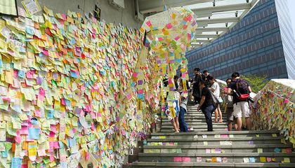 Hong Kong's Sticky-Note Revolution