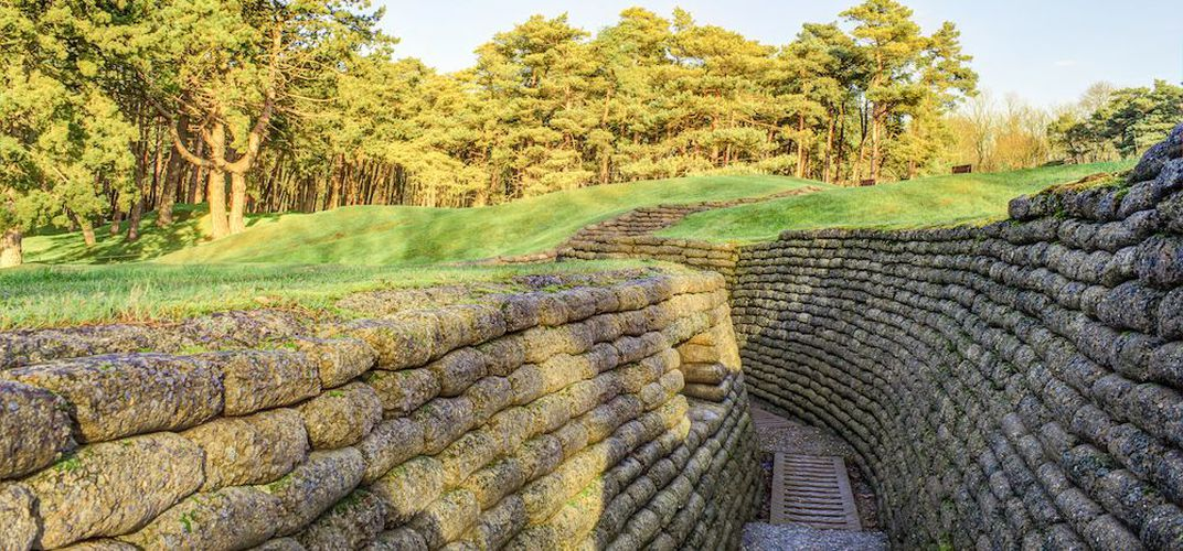 Caption: Four WWI Trenches and Tunnels You Can Explore