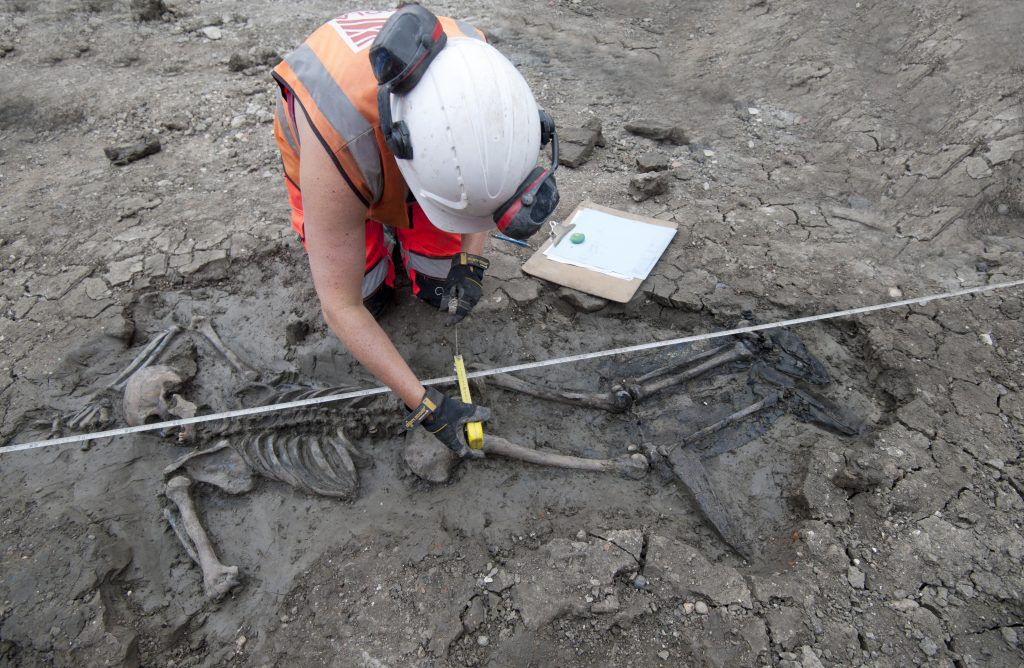 Found Near the Thames: A Centuries-Old Skeleton, Still Wearing Thigh-High Boots