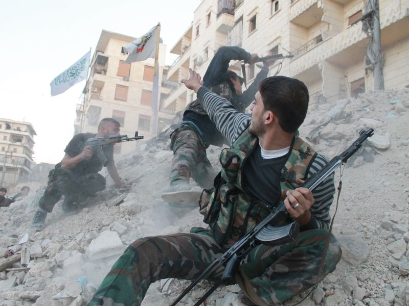 Syrian Civil War Climate Change Conflict