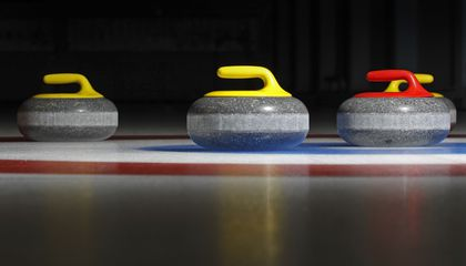 Why does a curling stone curl?
