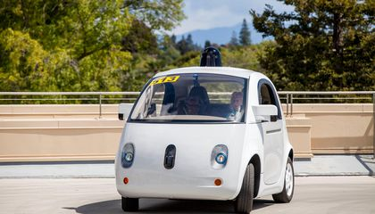 Google's Driverless Car Got Confused By A Cyclist