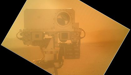 Dirty Curiosity Rover Could Seed Mars With Earthly Bacteria
