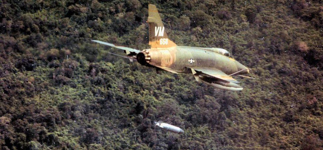 Caption: This Fighter Jet Fought During the Tet Offensive