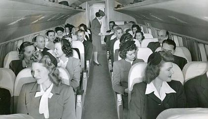 In 1950, Airlines Didn't Serve Liquor Over Dry States