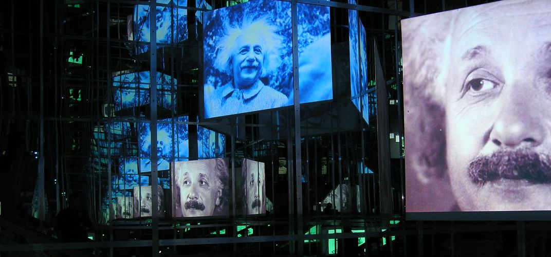 Einstein display, Bern. Credit: Swiss-image.ch / Terrence du Fresne
